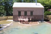 Miller Park Flamingo Exhibit